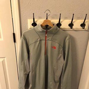 NORTH FACE Quarter Zip Pullover Size M